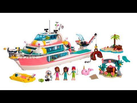 ИНСТРУКЦИЯ Lego friends Катер для спасательных операций