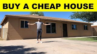🏡How To Buy A Cheap House (Real Estate 101)