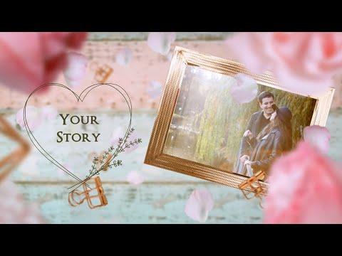 おしゃれで可愛い★結婚式ムービーを制作します 映像デザイナーがお二人の想い出を素敵に輝かせます⭐︎ イメージ1