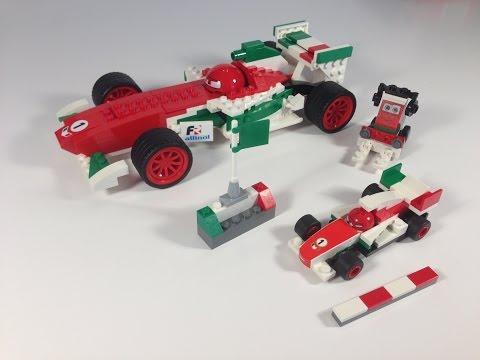 Vidéo LEGO Cars 8678 : Francesco
