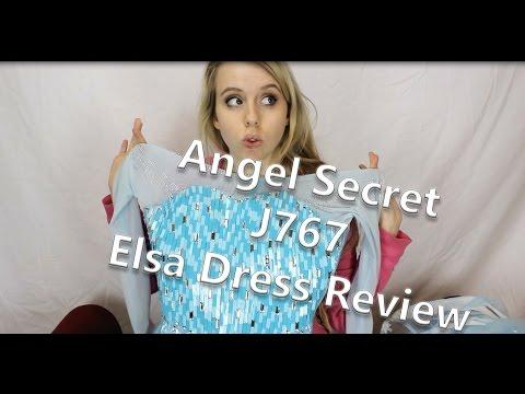 Angel Secret J767 Frozen Elsa Cosplay Dress