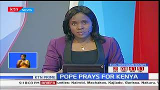 Pope Francis asks faithfuls across the World to pray for Kenya ahead of fresh polls