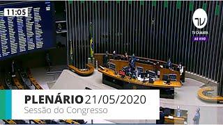 Congresso Nacional - Deliberação do Projeto de Lei nº 8, de 2020, do Congresso Nacional. - 21/05/2020 10:00