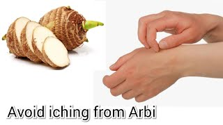 Avoid hand  iching from arvi | easy tip | Unknown mood