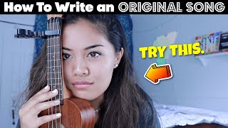 How To Write a Song!