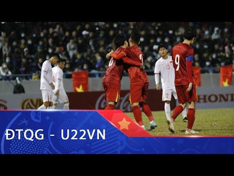 Highlights   ĐT Việt Nam – U22 Việt Nam   Màn tập dượt chất lượng tại Cẩm Phả   VFF Channel