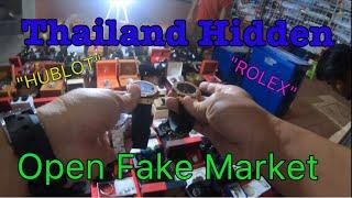 Thailand Hidden Fake Open Market