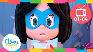 CLEO & CUQUIN   EPISODE COLLECTION (Ep1  4) Full Episodes. Nick Jr I Cartoon For Children