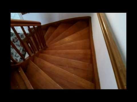 Alte Holztreppe Sanieren Renovieren Hd Video Anleitung