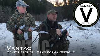 Mcnett Tactical Camo Form : Critique