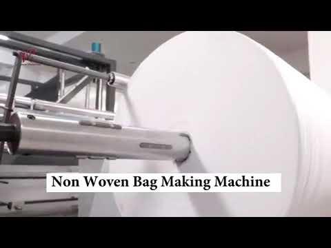 TRBM-DH700 Automatic Non Woven Bag Making Machine