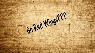 Red Wings on the Scroll Saw