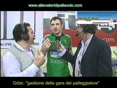 """Preview video Intervista Grbic: """"Gestione tattica del palleggiatore""""."""
