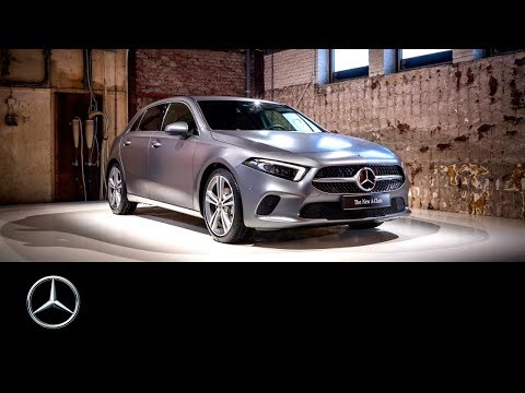 The brand-new Mercedes-Benz A-Class in Las Vegas   CES 2018