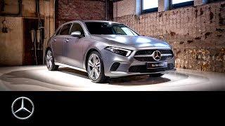 Weltpremiere Mercedes-Benz A-Klasse in Amsterdam