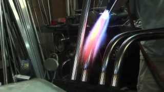 Stainless steel 304 Muffler bending hand  CORSE RESIN  KATANA GSX1100S  Suzuki  コルサカタナ スズキ ステンレス304