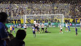 Desde la tribuna: Golazo de tiro libre de Riquelme a River / Torneo Final 2014
