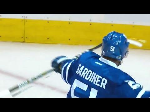 Jake Gardiner scores Overtime Game Winner! 2/21/2017 (Winnipeg Jets vs Toronto Maple Leafs)