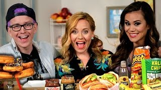 Top That! | Food Trend Challenge & $1000 Goldbely Giveaway! | Lightning Round