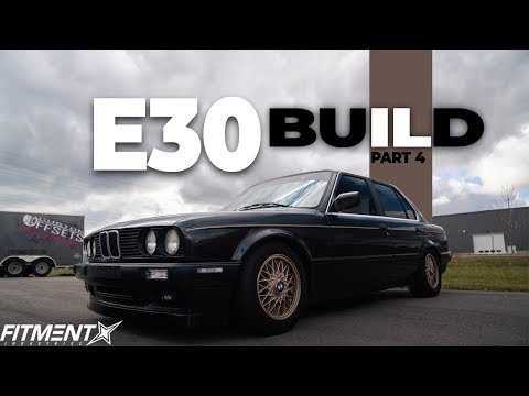 e30 bUILD | tINT & tAIL LIGHTS?!?!
