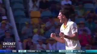 First Test: Australia V England, Day One