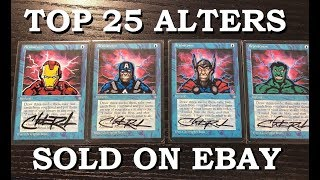 25 Most Expensive Altered Art Magic Cards Sold On EBay