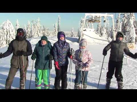 Видео: Видео горнолыжного курорта Такман в Пермский край