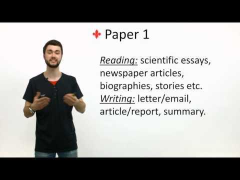 International GCSE English as a second language exam preparation
