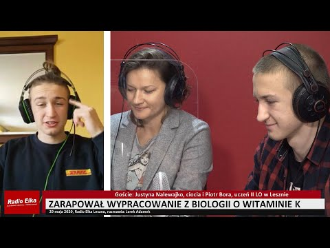 Wideo1: Piotr Bora zarapował zadanie z biologii