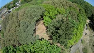 2.5 inch FPV racing drone park ripping with caddx turtle v2