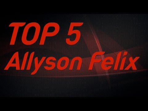 Top 5 | Allyson Felix Individual IAAF World Championships Gold Medals
