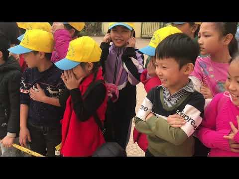 Hoạt động trải nghiệm của các em học sinh trường tiểu học TTNC Bò và Đồng Cỏ Ba Vì