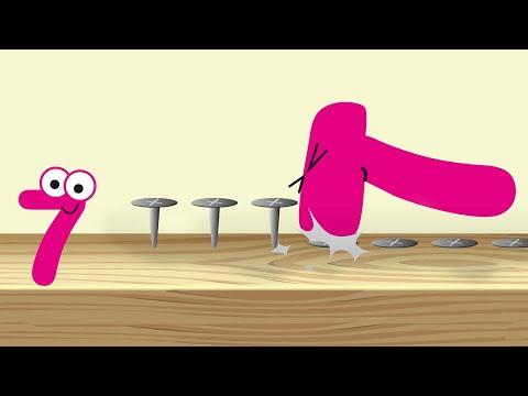 Číslovanky - učíme sa počítať čísla a farby (pre deti po slovensky)