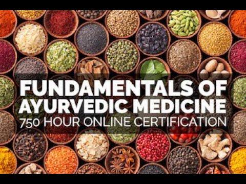 Study Ayurveda Online - Intro to Ayurveda Health Counselor ...