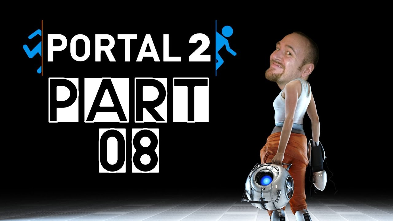 [Let's Play] Portal 2 – Part 08: Gel!