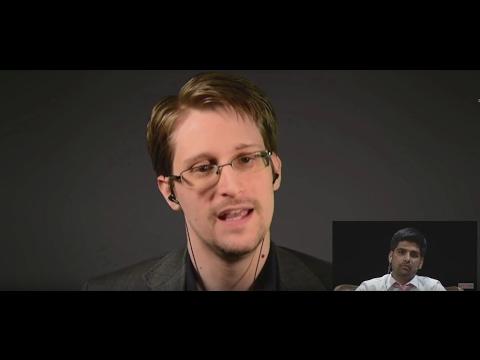 Edward Snowden über Deutschland & BND, Donald Trump, Obamas Amtszeit, Freiheit & Aktivismus