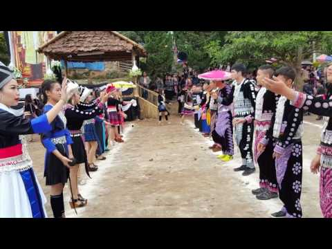 New year celebration of Hmong tribe villagers gathered in Doi Pui,   north Thailand(2)