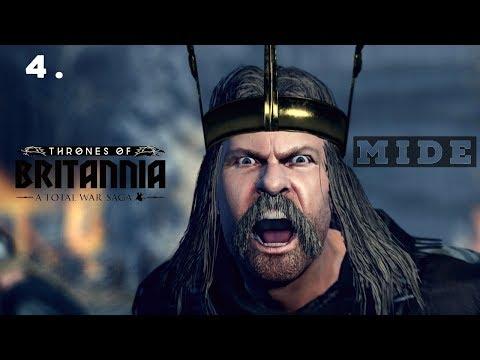 NEIGHBOURLY DESPUTES ! - Mide Campaign - Total War Saga: Thrones Of Britannia Gameplay #3