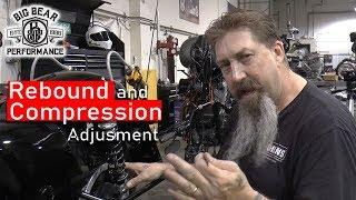 How We Adjust Rebound And Compression | Ohlins Suspension Kit, Big Bear Performance
