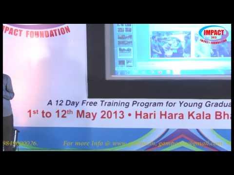 Life Story|Meka Srinivas|TELUGU IMPACT Hyd 2013