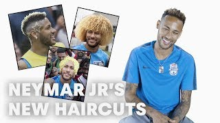 Neymar Jr Tries To Guess 12 Football Hairstyles