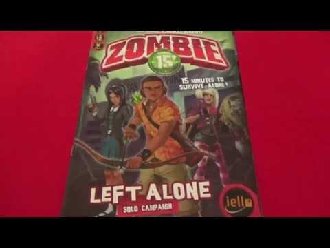 Zombie 15': Left Alone - Solo Playthrough - Scenario #1: School's Out