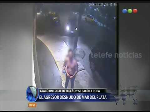 Desnudo en Mar del Plata -  Diario de Medianoche