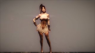 Одежда Valkyrie из игры Black Desert для Skyrim (rus and eng versions) часть 1