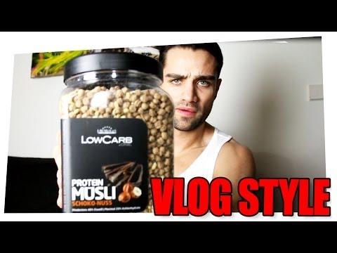 Neues Protein Müsli, lecker Fisch - Vlog Style