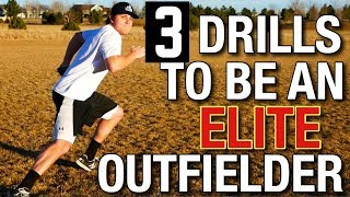 3 Elite Baseball Outfield Drills!