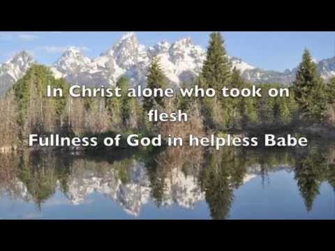 Download In Christ Alone / The Solid Rock (lyrics)  By Travis Cottrell HD Mp4 3GP Video and MP3