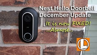 Nest Hello Video Doorbell December 2018 Update And Reolink Argus 2 Giveaway!