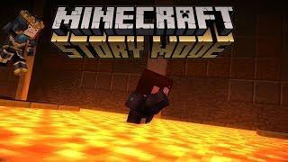 """BALAPAN KEMATIAN LAVA"" Minecraft Story Mode Indonesia #29"