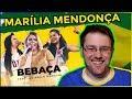 Gringo Reagindo A Marília Mendonça - BEBAÇA (Reupload Sem Música)